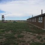 Present day restored Guard Tower and Barracks at Amache Internment Camp Granada, CO