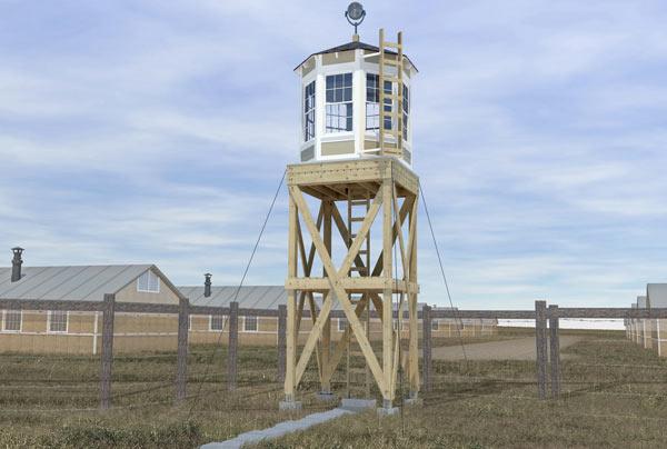 Guard Tower Rendering